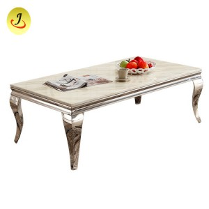Metal Frame Tempered Glass Gold Wedding Table/Steel Weeding Table SF-SS021