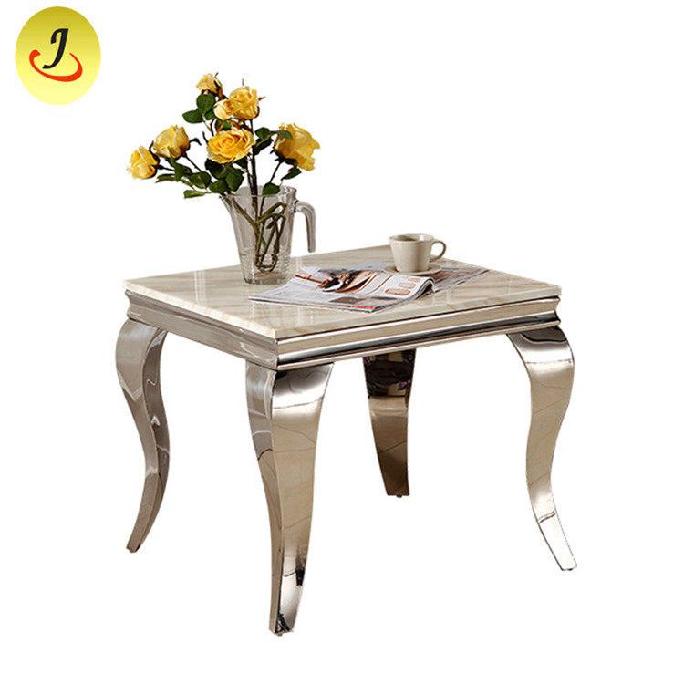 Modern Metal frame Tempered Glass Gold Wedding table SF-SS029 Featured Image