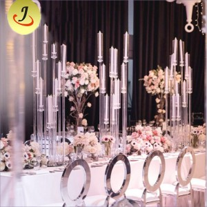 New Wedding Centerpiece Tall Glass Tubes Crystal/Wedding Candle Holder SF-ZT08