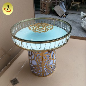 Top Sale Fashion Design stainless steel Wedding Cake Table  SF-SS24
