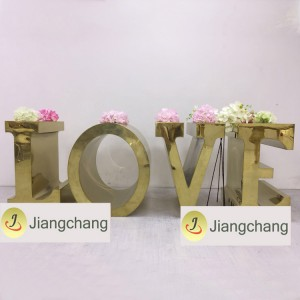 Popular White Wedding-Love-Letter-Table /Modern Wedding Table SF-WT022