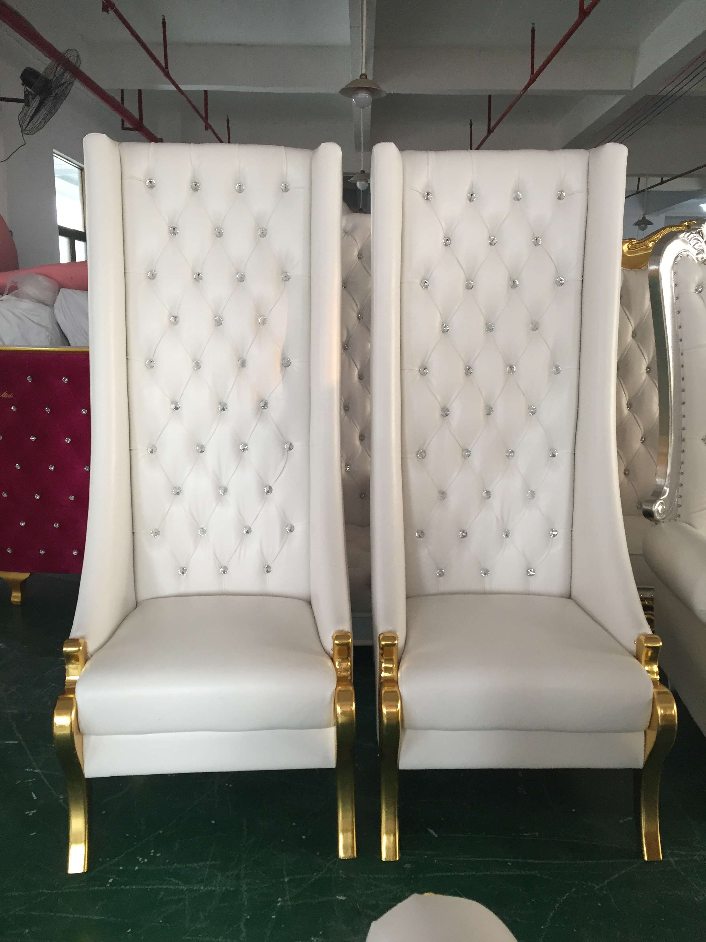Manufacturer for White Plastic Table - King Wedding Chairs SF-K07 – Jiangchang Furniture