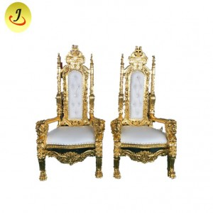 High quanity Fashion  Luxury High Back  Sofa King Throne Chair SF-K020