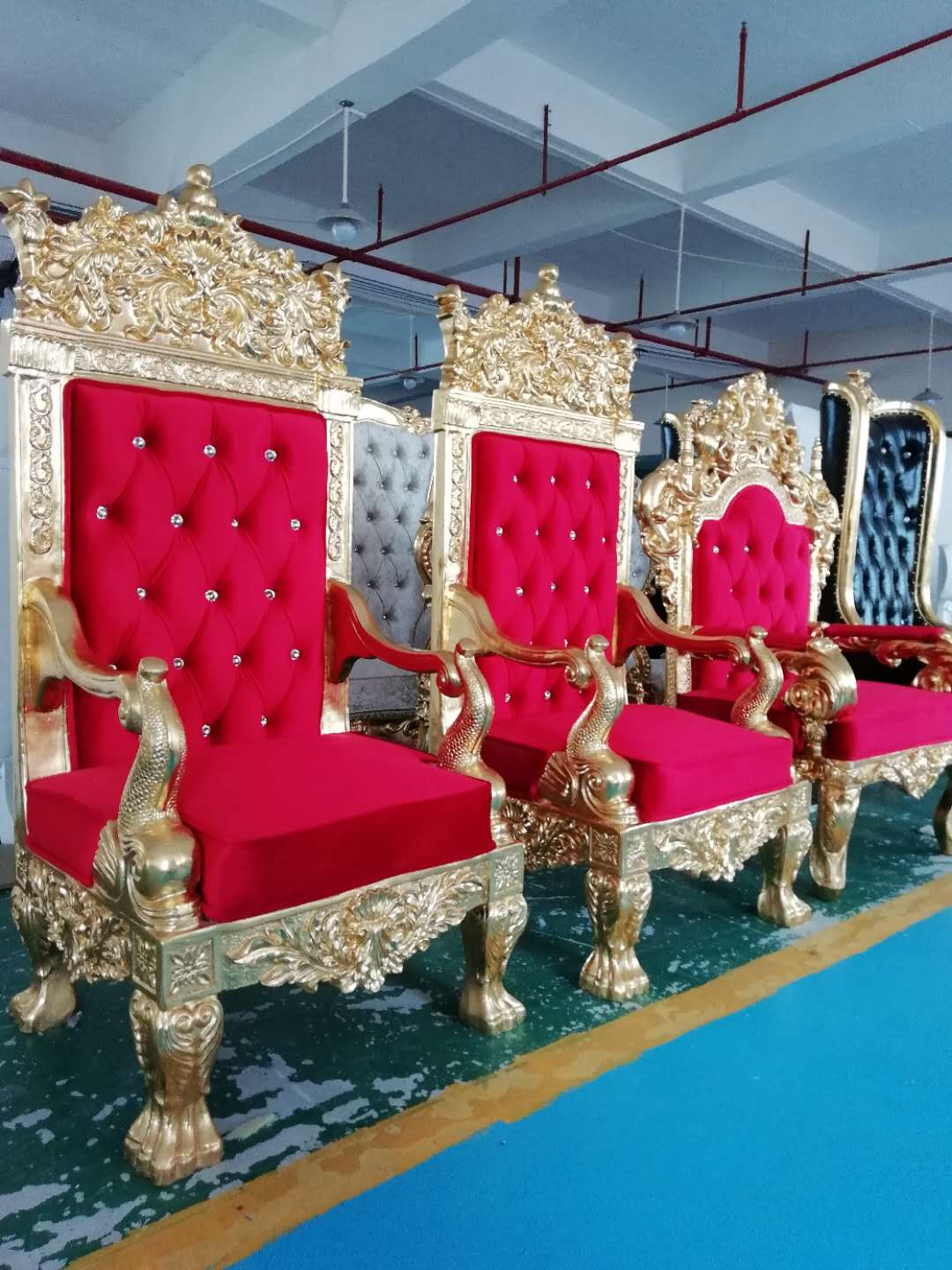 Good quality Hot Sale Pastor Church Chair - Queen throne chair rental  SF-K11 – Jiangchang Furniture