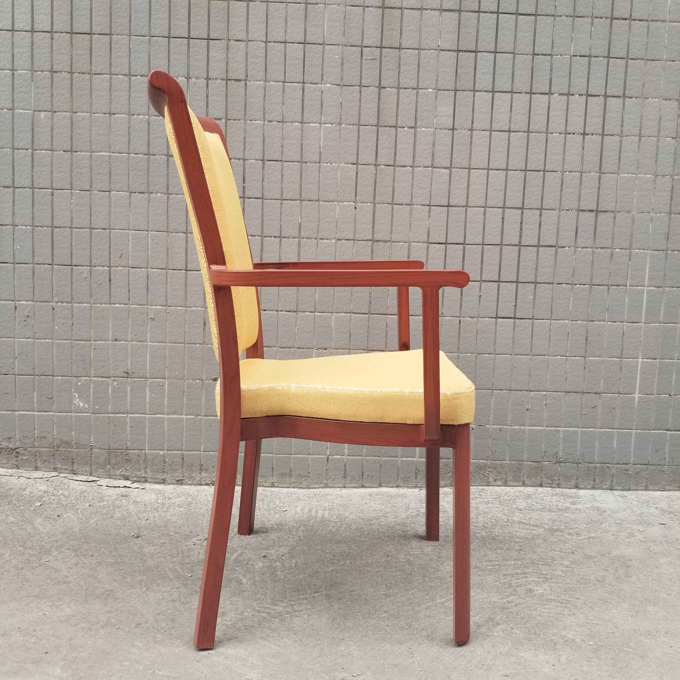 Cheapest Factory Sponge Church Chair - Armrest dining chair  SF-FM12 – Jiangchang Furniture