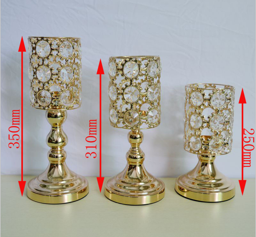 Manufacturer of Theater Auditorium Chair - Wedding centerpiece rose gold metal candle holder SF-ZT03 – Jiangchang Furniture