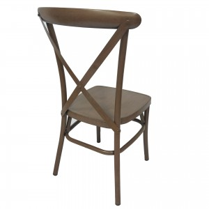 Metal X back chair SF-ZJ23