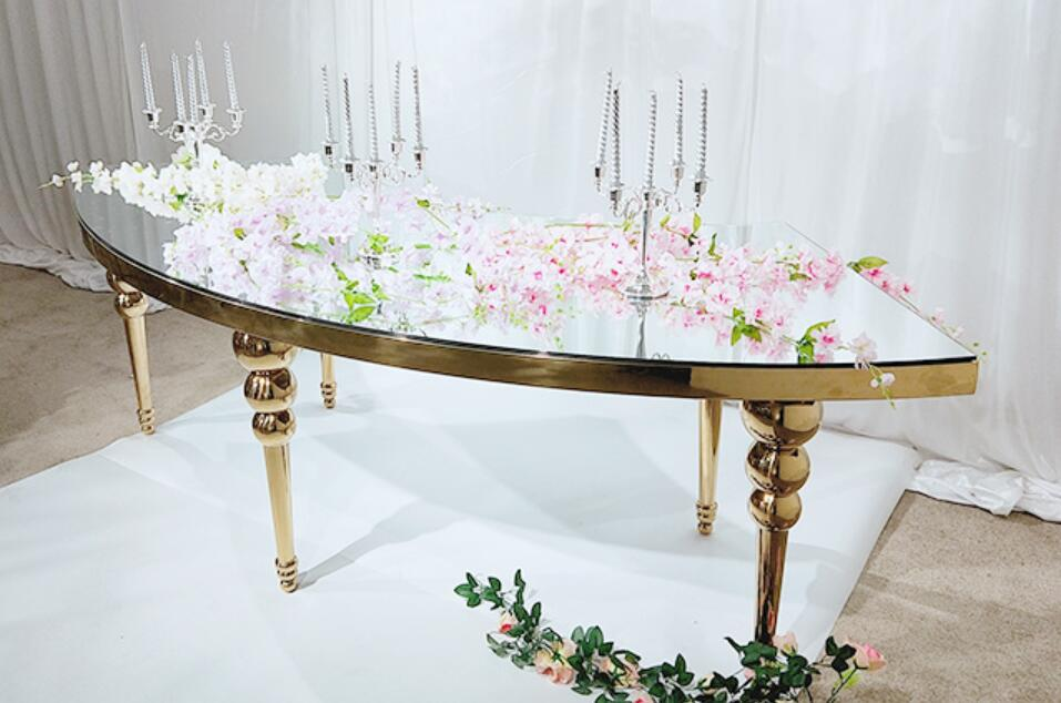 Mirror Top Wedding Table SF-SS32 Featured Image