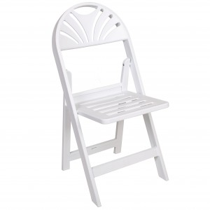 Fan back folding chair SF-T09