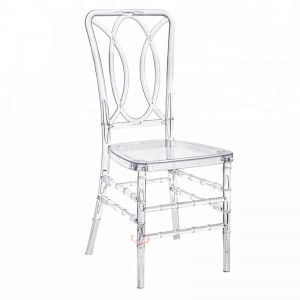 Big discounting Stacking Church Pew - Plastic wedding chairs SF-RCC09 – Jiangchang Furniture