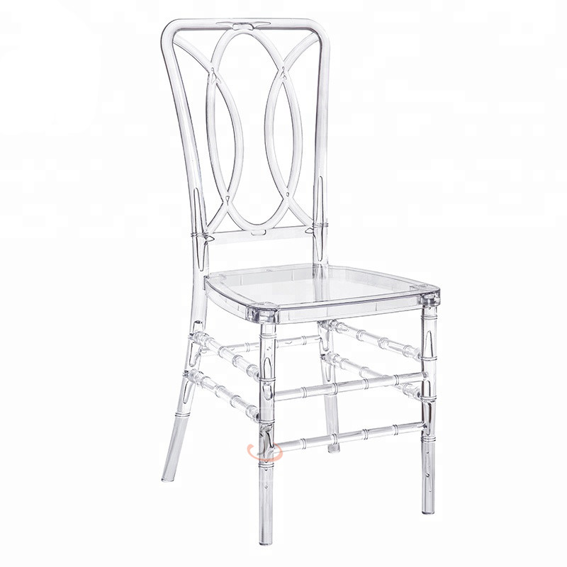 Low MOQ for Banquet Chair Covers - Plastic wedding chairs SF-RCC09 – Jiangchang Furniture