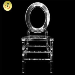 New design wholesale wedding transparent chair/dinging  transparent chair SF-SS032