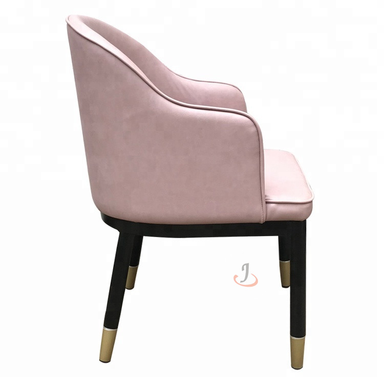 Short Lead Time for Cinema Seat Wooden Chair - Metal dining restaurant leisure chair  SF-FM20 – Jiangchang Furniture