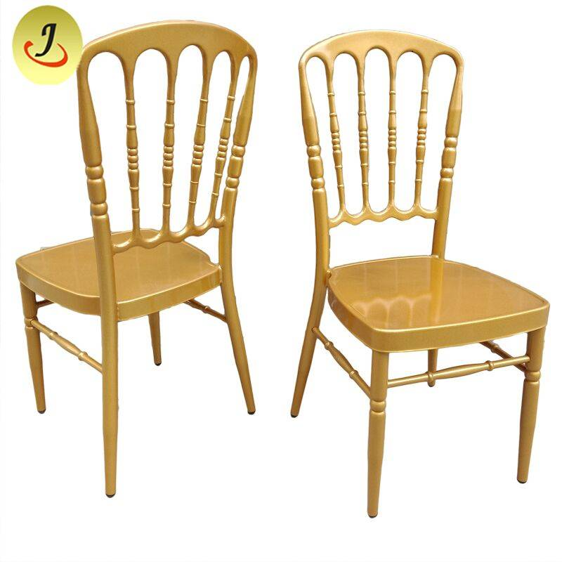 Commercial modern style stacking golden luxury Tiffany chair  FS-TC07 Featured Image