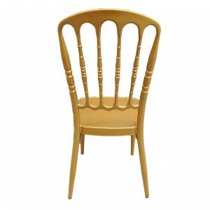 Commercial modern style stacking golden luxury Tiffany chair  FS-TC07