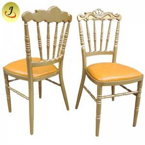 Multifunctional royal pu leather wedding Tiffany chair  FS-TC06