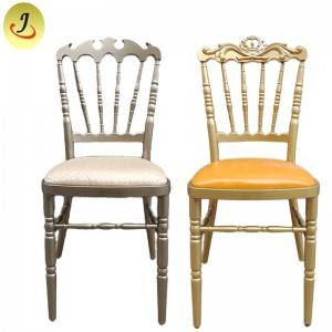 Stacking modern style wedding romantic aluminum Tiffany chair   FS-TC08