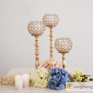 Top Sale Simple Bead Crystal Wedding Table Decoratiion SF-ZT024