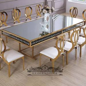 Wholesale clear acrylic plastic wedding dining table  SF-SS040