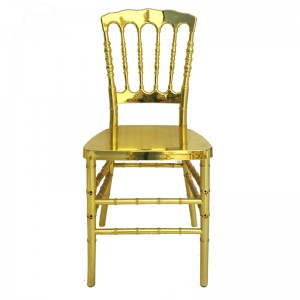 Gold Plastic Napoleon chair SF-RCC10