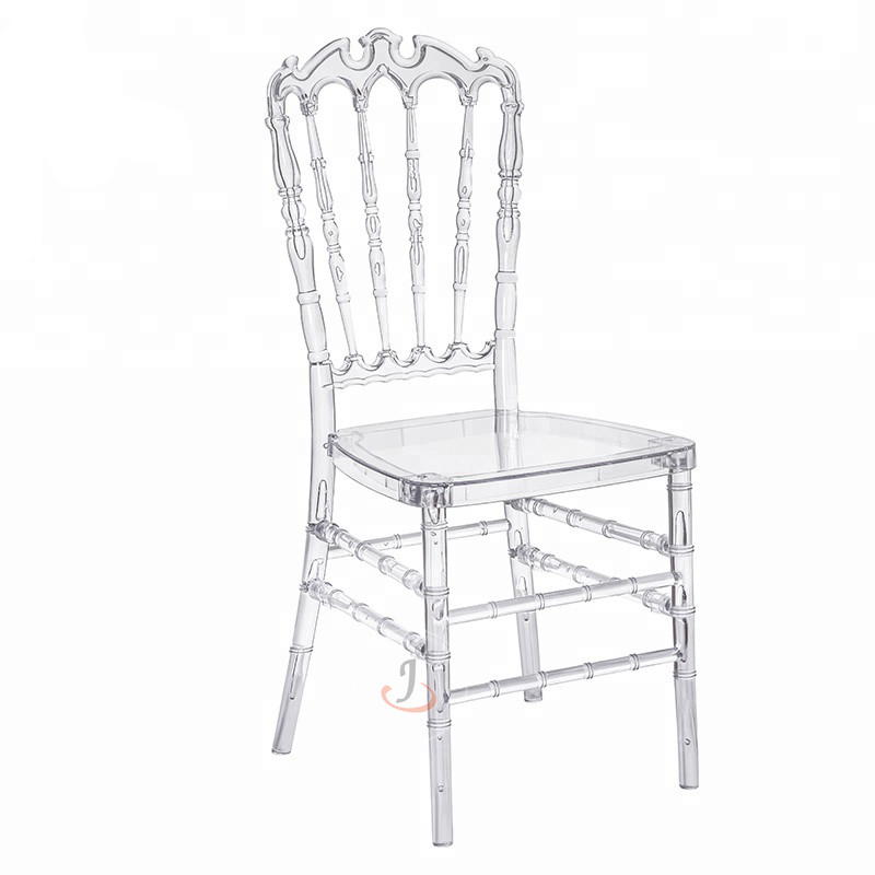 Factory directly Wooden Used Church Chairs/cheap Church Chairs - Resin Clear Crown chair SF-RCC05 – Jiangchang Furniture