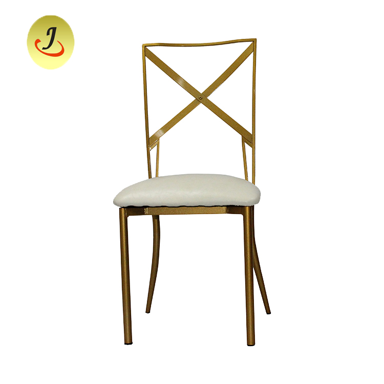 Wholesale Royal Infinity Wedding steel metal Chairs /Dining Stainless Steel Chair/Metal Chair SF-SS018 Featured Image
