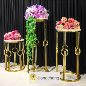 Levný Modern Wedding Flower Stand / Flower Outdooor Stojan / Flower Stand dekorace SF-Z026
