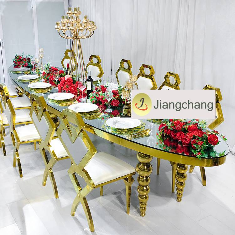 Stainless steel dining table and chair selection skills