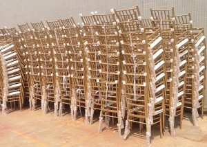 China OEM Banquet Stacking Chairs Used -