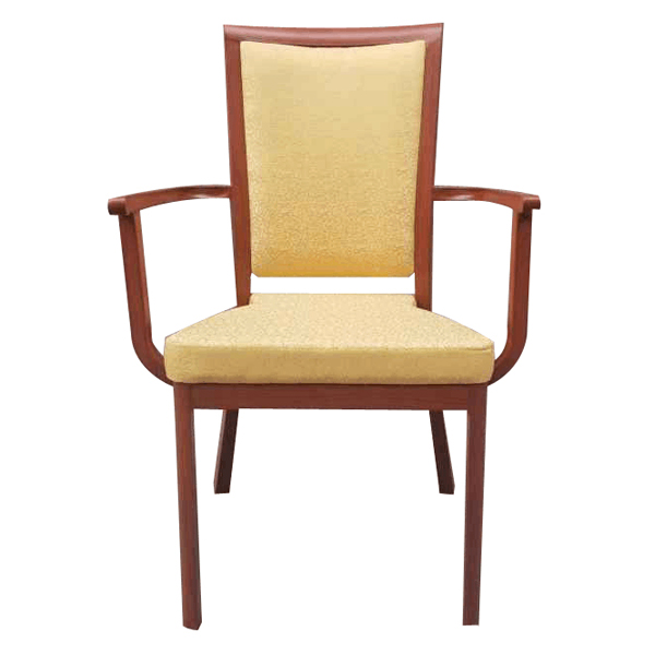 Cheapest Factory Fancy Chair Cover - Armrest dining chair  SF-FM12 – Jiangchang Furniture