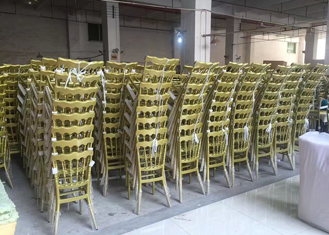 Quality Inspection for Audience Soft Chair -