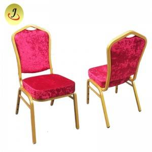 Factory supply flannel stackable banquet chair for sale  SF-YH029