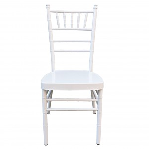 Factory wholesale Theater Hall Chair - White Chiavari Chairs SF-ZJ10 – Jiangchang Furniture