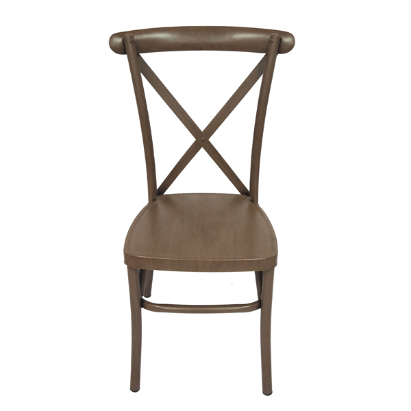 Wholesale Price China Pulpit Chair For Church - Metal X back chair SF-ZJ23 – Jiangchang Furniture
