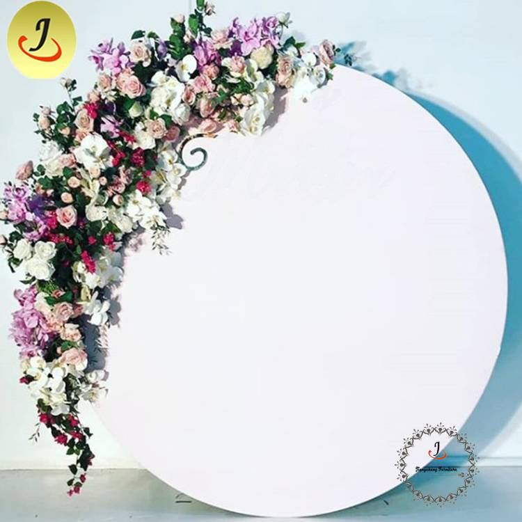 Modern Acrylic Flower Backdrop for Wedding for Sale/wedding display SF-BJ035 Featured Image