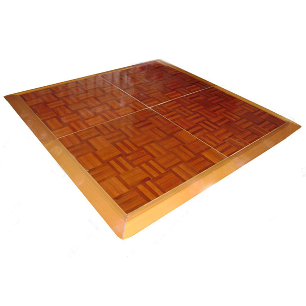 Manufacture directly cheap portable teak wood dance floor SF-W01 Featured Image