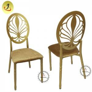 Wedding Event Golden luxury Stainless Steel Dining Chair SF-SS040