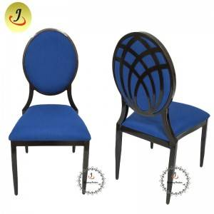 Factory direct romantic round back wood imitate chair FS-DDC03