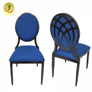 Factory direct romantic round back wood imitate chair FS-DDC06