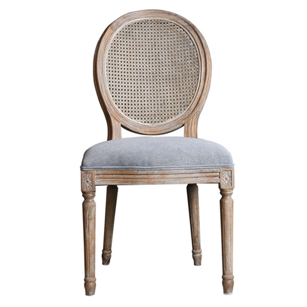 OEM Manufacturer Cheap Price Auditorium Chair - Wood Rattan Dining chair SF-FM16 – Jiangchang Furniture