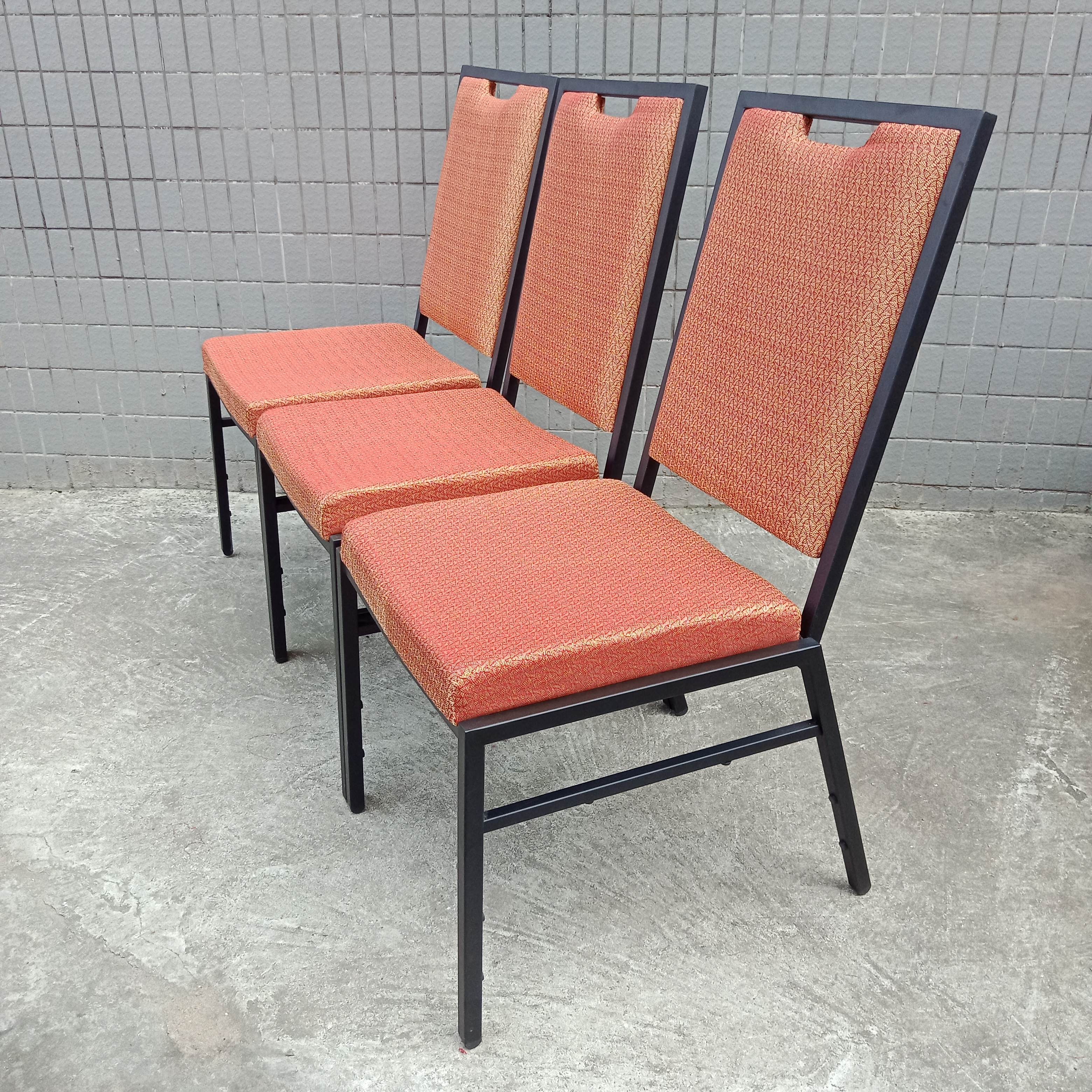 2017 wholesale price Outdoor Fabric Folding Chair - Stackable Banquet Chair SF-G03 – Jiangchang Furniture