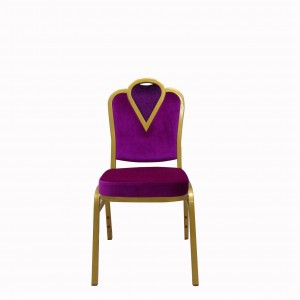 Factory directly supply Dining Stainless Steel Chair - Banquet Stacking Chairs Used SF-L22 – Jiangchang Furniture