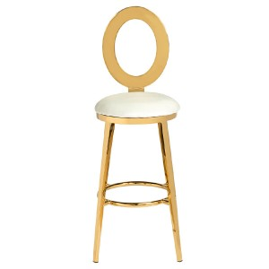 Gold metal bar stool SF-SS20