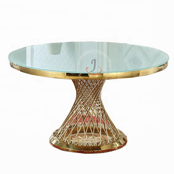 Tempered glass top dining table SF-SS18 Featured Image