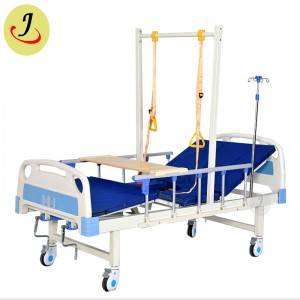 Multi-fucntional Manual or Electric Medical Nursing Hospital Beds with Rings