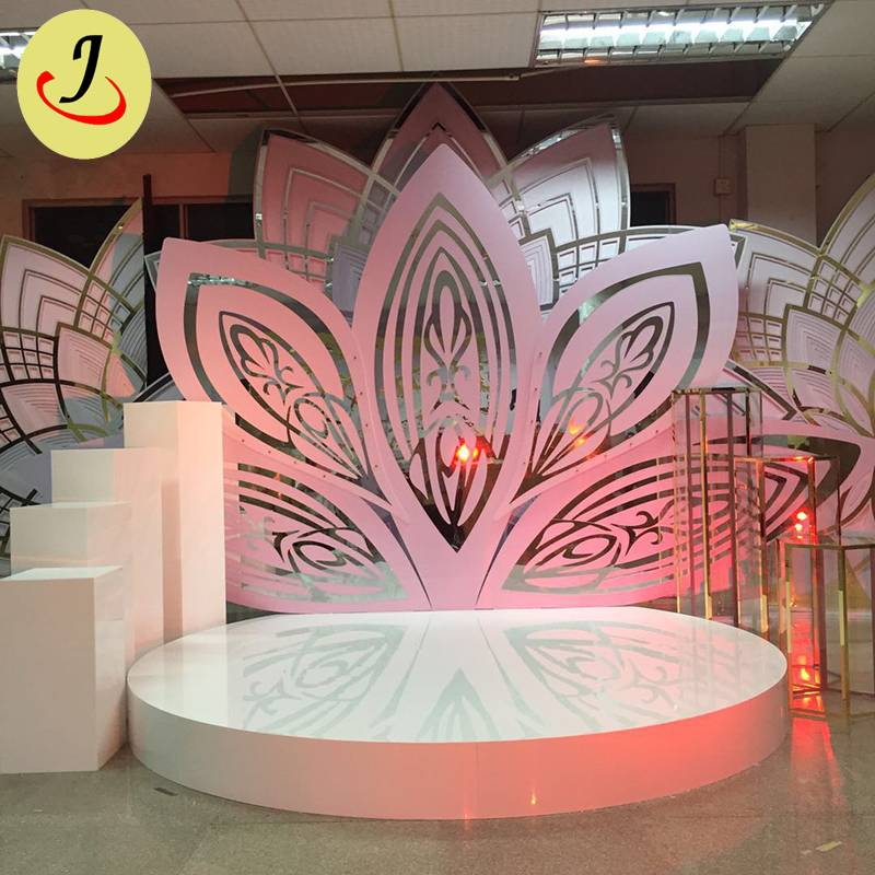 luxury flower acrylic Backdrop for Wedding for Sale/wedding display SF-BJ042 Featured Image