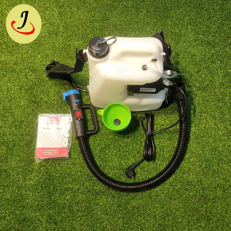 Top sale 12L Agricultural Backpack Portable Electric atomizer sanitizer machine fogger Sprayer  FS-BD21 Featured Image