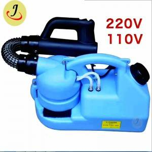 Modern Automatic mist street sodium hypochlorite electrostatic sprayer machine