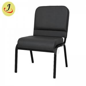 Competitive price royal armless leather church chair  SF-JC015