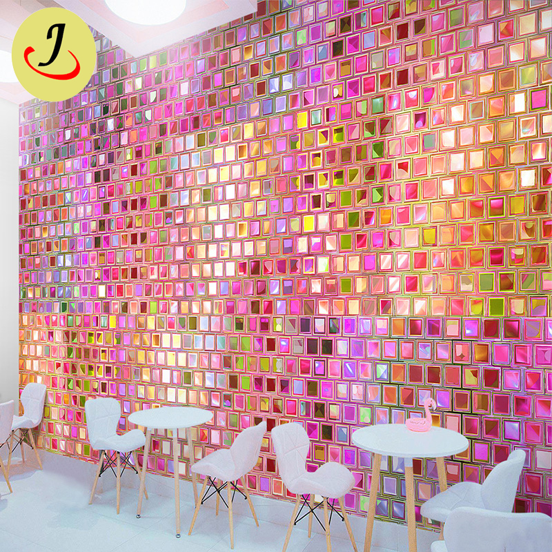 Pink party backdrop Sequin Wall Billboard Sequin backdrop Panel decoration  SF-BJ048 Featured Image